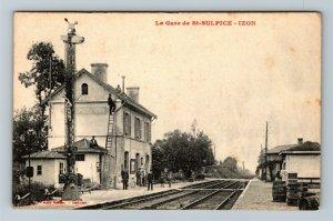 La Gave de St-Sulpice Izon, Vintage Postcard