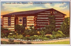 Badlands Cabin of Theo Roosevelt, Bismarck ND