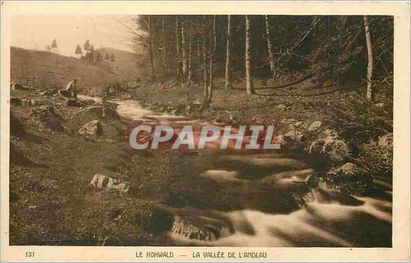 Vintage Postcard the hohwald the valley of landalau