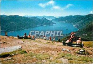 Postcard Modern Cardada Cimetta Lago Maggiore Veduta generale