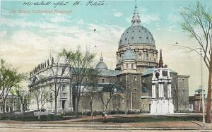 Montreal Quebec~St James' Catholic Church Cathedral~1910 Postcard