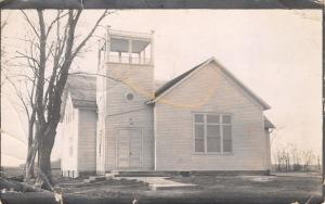 Cedar Iowa~New United Methodist Episcopal Church Dedicated the 22nd RPPC c1910