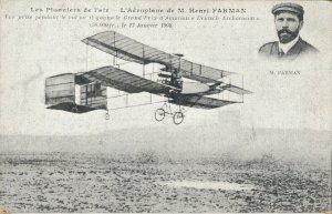 Aviation - Les Pionniers de l'air L'Aéroplane de M. Henri Farman 03.42