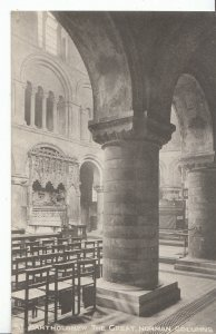 London Postcard - St Bartholomew The Great - Norman Columns    ZZ2726