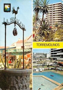 Spain Torremolinos (Costa del Sol) La Nogalera Swimming Pool Club Sandwich