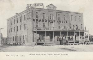 NORTH PORTAL , Sask. , Canada , 1900-10s ; Grand View Hotel