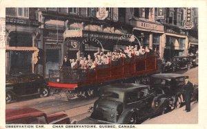Observation Car Quebec 1939