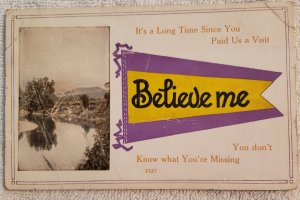 Vintage White Border: Believe Me you don't know what you're missing...