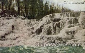 Falls Lake Agassiz, New York Zoological Park New York, USA Paper on back a lo...