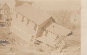 RP:WYOMING , Pennsylvania, 1900-10s ; Post Office , Mine Cave In