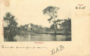 Ceylon Anuradhapura early postcard