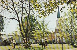 Campus Scene Lambuth College Jackson Tennessee