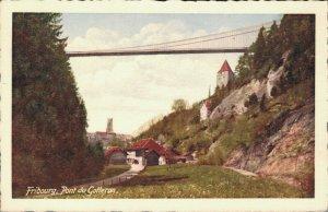 Switzerland Fribourg Pont du Gotteron 03.44