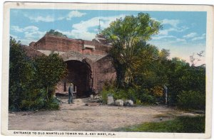 Key West, Fla., Entrance To Old Martello Tower No. 2