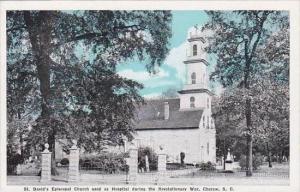 South Carolina Cheraw Saint Davids Episcopal Church Used As Hospital Durinu T...