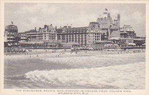New Jersey Atlantic City The Shelburne Dennis Marlborough Blenheim  Albertype