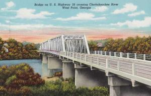Chattahoochee River Bridge - West Point GA, Georgia