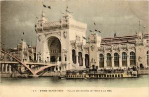 CPA PARIS EXPO 1900 Palais des Armees de Terre et de Mer (576202)