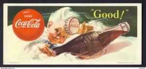 Drink Coca-Cola - Good! glass bottle Sprite boy - BLOTTER - litho Canada