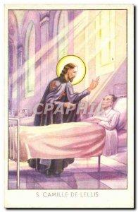 Old Postcard D Camillus de Lellis (religion)