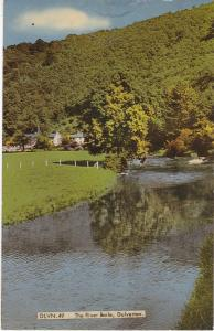 Post Card Somerset DULVERTON The River Barle A Frith Card