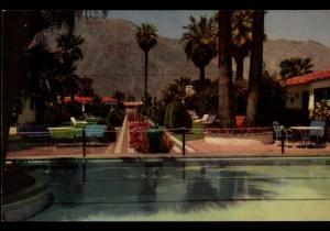 Palm Springs CA Horace Heidt's Lone Palm Hotel H. S. Crocker Postcard B02