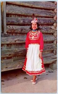 PHILADELPHIA, MS   Choctaw Indian Fair  CHOCTAW PRINCESS Loretta Steve  Postcard