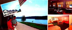 NH - Silver Lake. Eidelweiss Motor Lodge (3.5 X 8.25). Roadside America