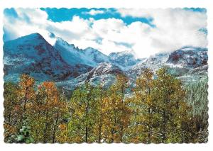 Colorado Longs Peak Keyboard of the Winds Rocky Mountains PC