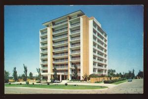 Waco, Texas/TX Postcard, Lake Air Tower, Residential Condominium