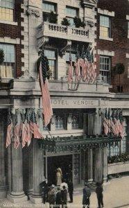 PHILADELPHIA, Pennsylvania, 1900-1910s; Main Entrance, Hotel Vendig