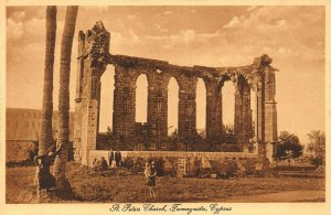 Cyprus Famagusta St Peters Church postcard