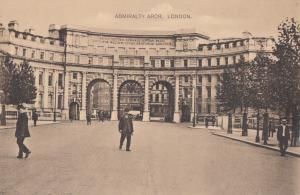 United Kingdom, ADMIRALTY ARCH, LONDON, early 1900s unused Postcard