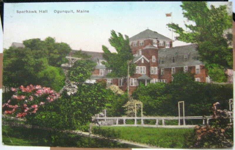 United States Sparhawk Hill Ogunquit Maine - unposted