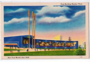 1939 NY Worlds Fair, Food Bldg