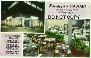 Parchey's Restaurant, Washington DC