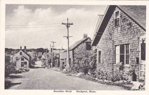 Massachusetts Rockport Bearskin Neck Albertype