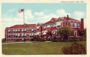 LUTHERAN HOSPITAL, YORK, NE.
