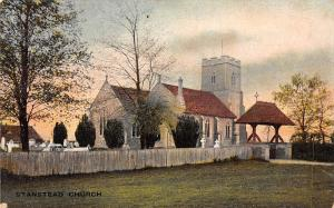 England Stansted Stanstead Church Naturette Pictorial