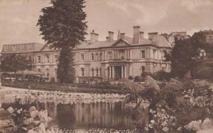 Belgrave Hotel Torquay Antique Postcard