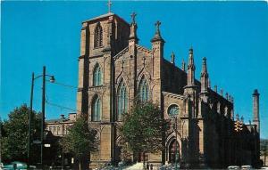 Columbus Ohio~St Josephs Cathedral~1950s PC