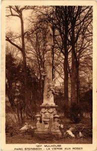 CPA AK MULHOUSE - Parc Steinbach - La Vierge aux Roses (451642)