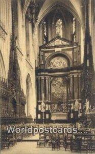 La Choeur de la Cathedrale Anvers, Belgium Unused