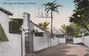 Bermuda St George's The Lane 1937
