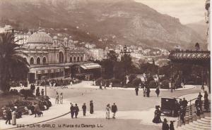 Monaco Monte Carlo La Place du Casino Photo