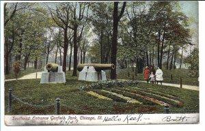 Chicago, IL - Southeast Entrance Garfield Park - 1907