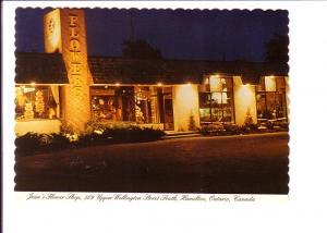 Jean's Flower Shop, Hamilton, Ontario,