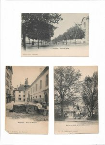 Switzerland Neuchâtel Postcard Lot of 9 01.11