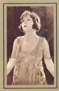 Nostalgia Postcard Actress Norma Talmadge 1893-1969 Reproduction Card NS57