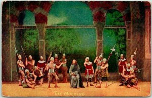 1910s OBERAMMERGAU Germany Passion Play Religious Postcard 14 THE MOCKING Unused